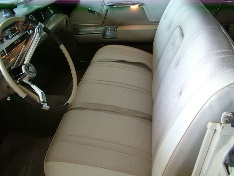 1962 cadillac front seat