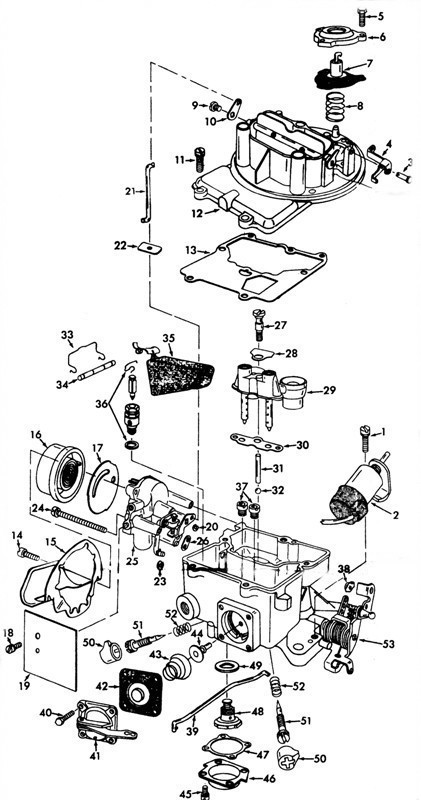 MOTORCRAFT MODEL 2100-D Exploded View