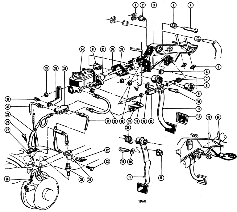 1968 gtx wiring diagram
