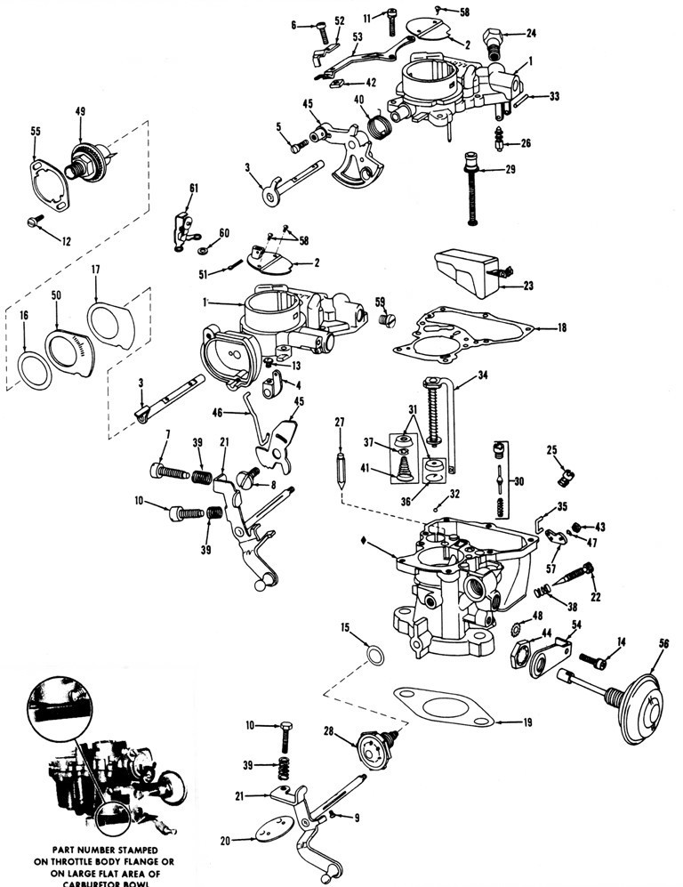 HOLLY MODEL 1909 Exploded view