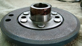 Harmonic balancer with sealant