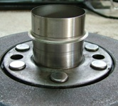 harmonic balancer and sleeve