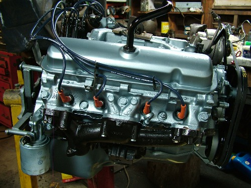 68 firebird Engine restored RH view