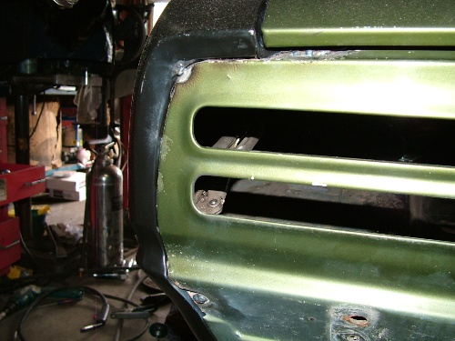68 Firebird tail panel to quarter seam