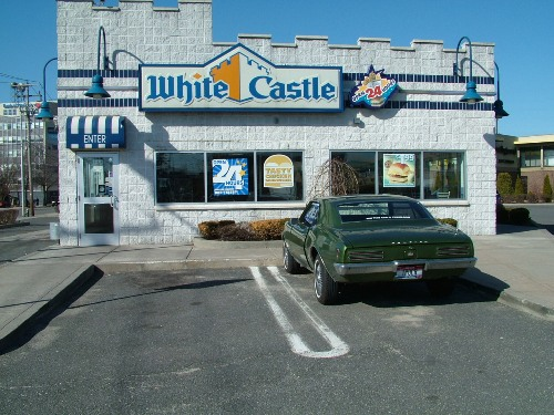 68 Firebird on the road at White Castle
