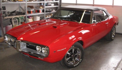 1967 400 Firebird Convertible