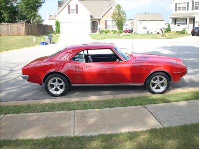 Curt's 68 4spd 350 Firebird