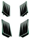 67 Mustang Quarter Panel Ornament Set