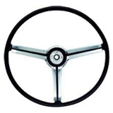 68 Camaro Steering Wheel Standard Black