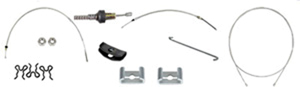 67 Firebird Park Brake Cable Kit