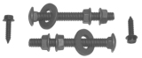 67-69 Firebird Gas Tank Strap Hardware Kit