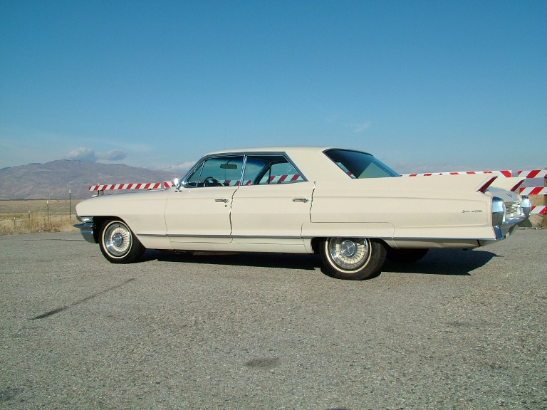 1962 Cadillac Deville left side