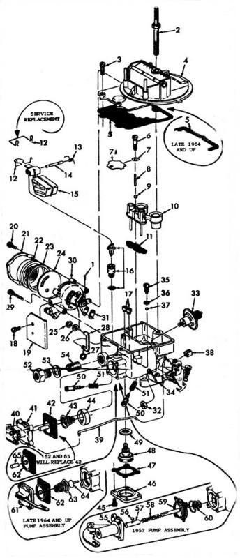 FORD MODEL F-2 Exploded View