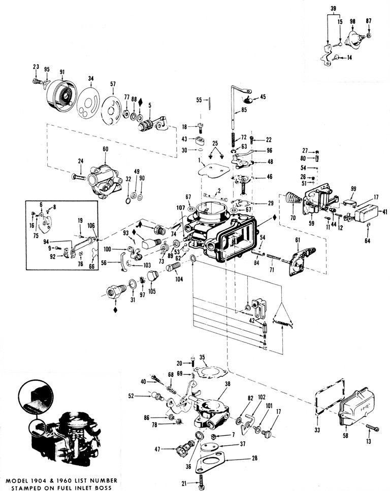Holley 4175 Schematic