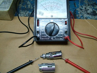 Meter and lighter assembly