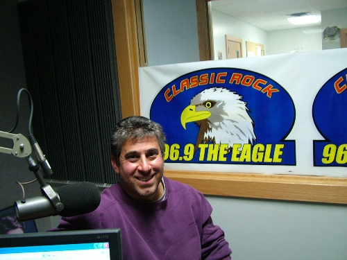 Me at 96.9 The Eagle