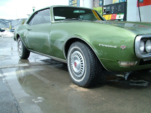 68 Firebird on the road