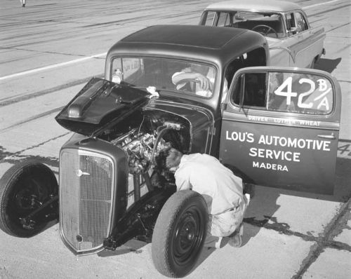 American Hot Rod back in the day