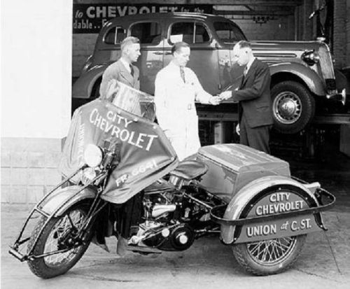 Chevy dealer circa 1930
