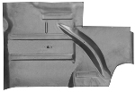 64-68 Mustang Floor Pan Extension Rear RH