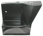 67-68 Mustang Fender Front Apron RH