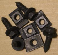 67-68 Firebird Radiator Support Gusset Bolts/Nuts