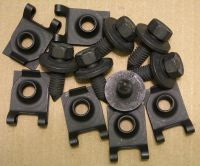 67-69 rear spring eye bolt/nut set