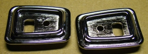 68-69 Firebird Door Grab Handle Bezels