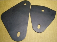 68-69 Firebird Door Window Mounting Plate Gasket Set
