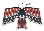 67-69 Firebird Glovebox Bird Emblem