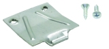67-68 Firebird Glovebox Latch Plate