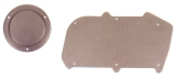 67-69 Camaro Heater Block-Off Plate Set